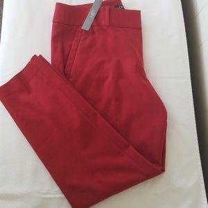 Red Slacks w/ fasteners